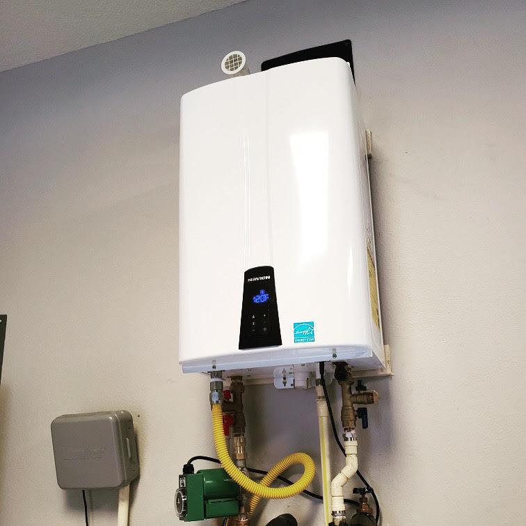 Tankless heater install